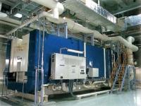 二重効用蒸気吸収冷凍機